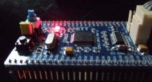 ARM STAMP Cortex-M3 STM32F10ret6 board